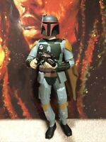 """Vintage Applause Star Wars 10"""" Action Figure Boba Fett 1995 Classic Collectors"""