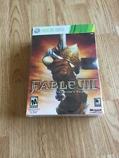 Fable III -- Limited Collector's Edition (Microsoft Xbox 360, 2010) New X1