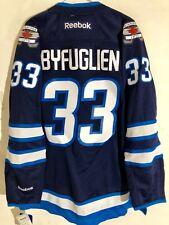 Reebok Premier NHL Jersey Winnipeg Jets Dustin Byfuglien Navy sz S e228cf1cd
