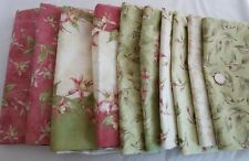 Maywood Studios Jackie Robinson Fuchsia Fabric Cotton LOT 8+ YDS