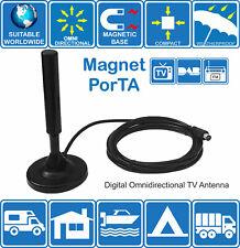 PORTA-MAGNETE CAMPER BARCA CAMION digitale onnidirezionale TV FM DAB Antenna
