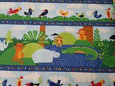 Crafts Nighty Night Owl BTY Viv Eisner Wilmington Green Brown Narrow Diagonal Stripe