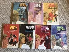 Trixie Belden Mysteries Hardcover Lot Of 7 Whitman Mystery Books~ 1,3,4,6,7,8,16