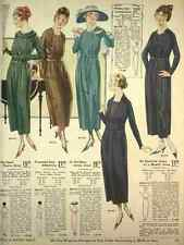 A4 Photo T Eaton Fall & Winter Catalogue 1920 21 Pretty & Inexpensive Dresses Pr