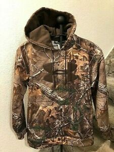 Under Armour - Realtree X-tra Hooded Sweatshirt Hoodie Men's Small Hunting NWT