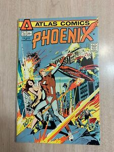 PHOENIX 1 NM 1975 ATLAS COMICS
