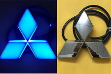 4D LED Car Tail Logo Blue Light for Mitsubishi Outland Lancer Auto Badge Light