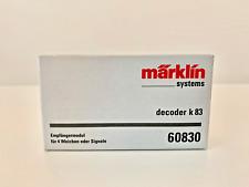Märklin 60830 Decoder k83 di commutazione per deviatoi e segnali, NUOVO