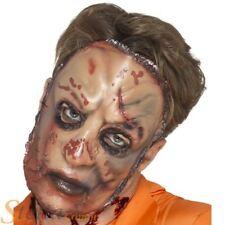 Adulto Zombie CARNE MÁSCARA HALLOWEEN HOMBRE MUJER Accesorio para disfraz