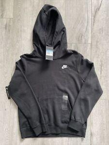 Nike  - BLACK Soft High Neck Hoodie  Womens Size MEDIUM
