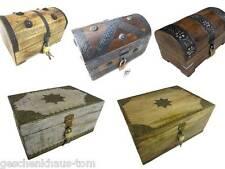 Boîte à trésor en bois Coffre en bois Coffre Coffre au trésor boîte cadeau