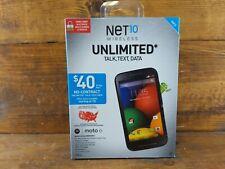 Net10 Wireless Motorola Moto E Android Smartphone NEW
