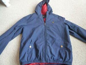 LYLE & SCOTT Junior Lightweight Hooded Jacket Age 14/15 Deep Indigo