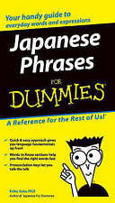NEW Japanese Phrases For Dummies
