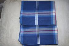 Pair Super Quality Debenhams Maine Range 100% Cotton Pillowcases.