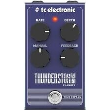 TC Electronic Thunderstorm Analog Flanger BBD True Bypass Guitar Effect Pedal