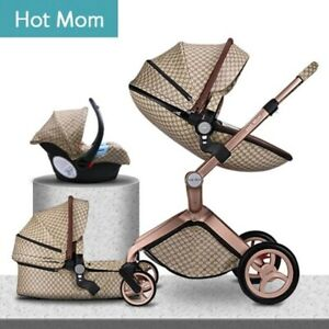 Luxury Multifunctional Baby Stroller 3 in 1 Baby Pushchair Baby Carriage