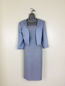 Lizabella  Size 20  Blue & Gold  Mother of the Bride  or Groom Outfit