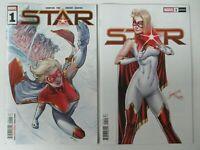 Marvel Comics 2020 Star 1 Carnero Main + J. Scott Campbell Variant NM