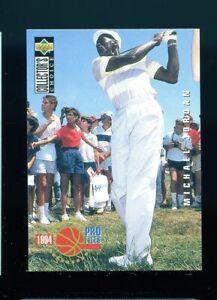 1994 Upper Deck Collector's Choice Bkb #204 Michael Jordan PRO FILES GOLF