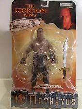 The Scorpion King ~ MATHAYUS ~ collector item action figure ~ Jakks Pacific~MOC