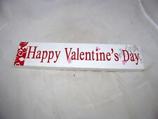 VTG Valentine Card Letter Wall Party Decor Box Sign Valentine's Day Table Sitter