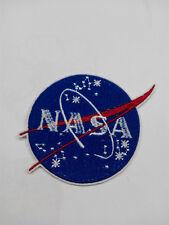 Parche bordado para Pegar o coser NASA 7/6 cm adorno ropa personalizada