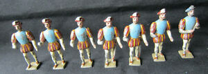 (7) VINTAGE Collectable Solid Lead Soldiers Made in France
