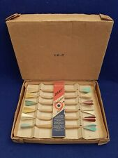VINTAGE WOODEN DART PROFESSIONAL MODEL GAME BY INNOVATION PRODUCTS ORIG BOX RARE