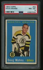 1959 TOPPS Doug Mohns #58 PSA 8 NM MT