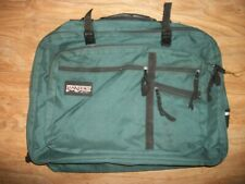 Vintage 90s Jansport Duffel Bag Backpack Green USA Made Large
