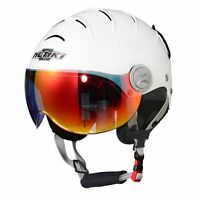 NENKI NK-2012 Ski Helmet with Anti Fog Visor for Snow Sport Skiing Snowboard,CE