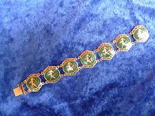 edles ,altes Armband__925 Silber __Emailiert__verziert__Thailand !