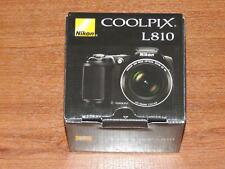 NEW in Box - Nikon COOLPIX L810 Camera 16.1 MP Camera - BLACK - 018208262946