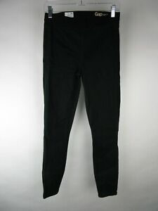 Gap 1969 Women Green Resolution Faux Front Pockets Pull On Legging Jeans Size 28