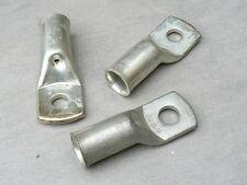 lot de 3 cosse tubulaire 240 mm² trou M14  cuivre etamé