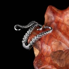 Vintage Silver Jewellery Octopus Finger Above Toe KNUCKLE RING Punk Womens Mens