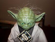 "Rare Star Wars Yoda Figure Star Tours 17"" Fully sculptured latex face hands feet"