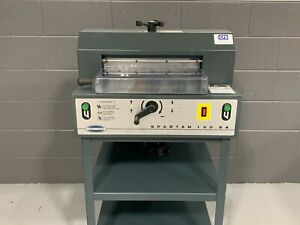 "Challenge Spartan 150SA 15"" Paper Cutter - 2011 - Professionally Serviced"