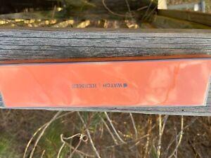 Apple Hermes Watch Series 6 Black Stainless Steel 40 mm free orange double tour