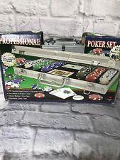 Fat Cat 55-0605 Texas Hold'Em Dice Poker Chip Set 500ct
