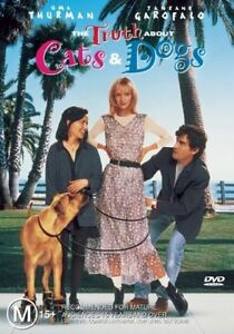 THE TRUTH ABOUT DOGS AND CATS DVD UMA THURMAN REGION 4 NEW AND SEALED