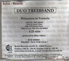 (463N) Duo Treibsand, Primavera In Venezia - 2004 DJ CD
