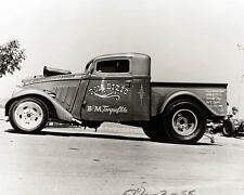 1934 1935 1936 Willys Pickup Drag Race Photo Poster zu1458-VDTQOQ