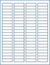 "8000 QUALITY RETURN ADDRESS LABELS 1 3/4"" x 1/2"" FREE SHIPPING"