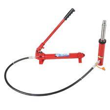 22000lbs 10 Ton Hydraulic Jack Pump+Ram Engine Lift Hoist Cherry Picker Port New