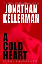 A COLD HEART  by Jonathan Kellerman, SIGNED, 1st Edition  (2003, Hardcover)