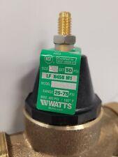Watts 1 Lead Free Brass Fpt X Fpt Pressure Reducing Valve Lfn45bum1 Free Ship