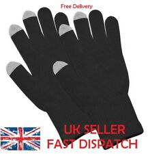 TOUCH SCREEN WINTER KNITTED GLOVES WOMEN, MEN FOR SMART PHONE TABLET TOUCHSCREEN