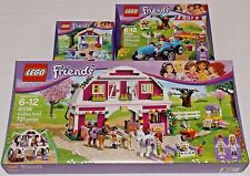 LEGO Friends SUNSHINE RANCH HARVEST STEPHANIE's NEW BORN LAMB 41039 41026 41029